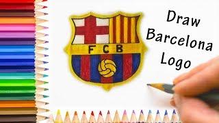 How to Draw Barcelona Logo 2019