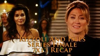 Rizzoli & Isles 7x13 - Ocean-Frank - You and Me SERIES FINALE