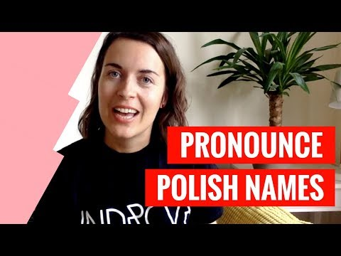 How To Pronounce Polish Names | Learn Polish