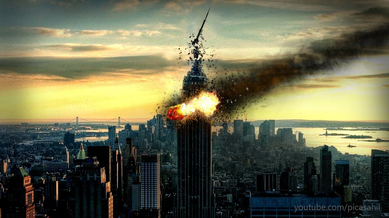after effects realistic missile strike & explode a building