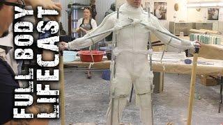 Repeat youtube video Full Body Lifecasting