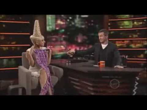 Rove Interviews Lady Gaga & Perform Her Song LOVE GAME..