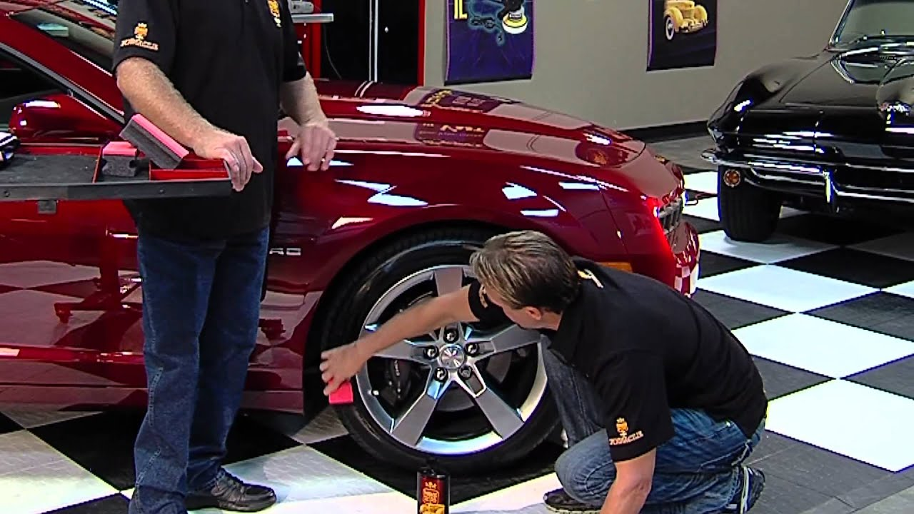 how to properly dress your car 39 s tires with pinnacle car care products youtube. Black Bedroom Furniture Sets. Home Design Ideas
