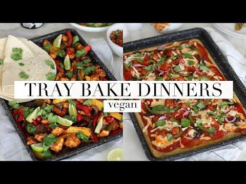 Tray Bake Dinners (Vegan & High Protein) | JessBeautician