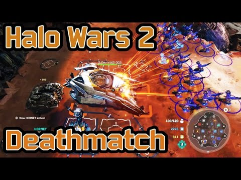 Halo Wars 2 - 3v3 Deathmatch Gameplay (Xbox One)