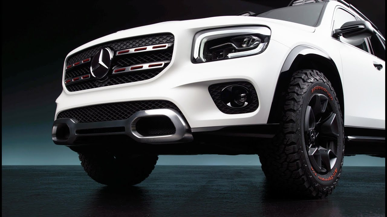 Concept GLB x247 - first 7 seats compact SUV Mercedes-Benz ...