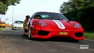Ferrari Challenge Stradale - Incredible Tunnel Sounds and Lovely Accelerations!!