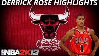 Nba 2k13   derrick rose highlights