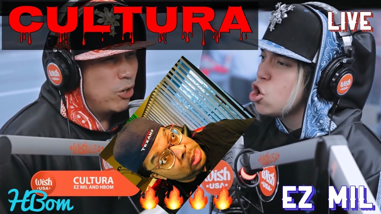 "MUSIC PRODUCER REACTS TO - Ez Mil and HBOM perform ""Cultura"""