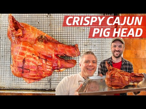 How Crispy Cajun Pig Head Is Made By New Orleans Butchers  — Prime Time