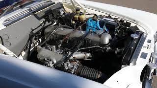 1963 Mercedes 220SE running engine