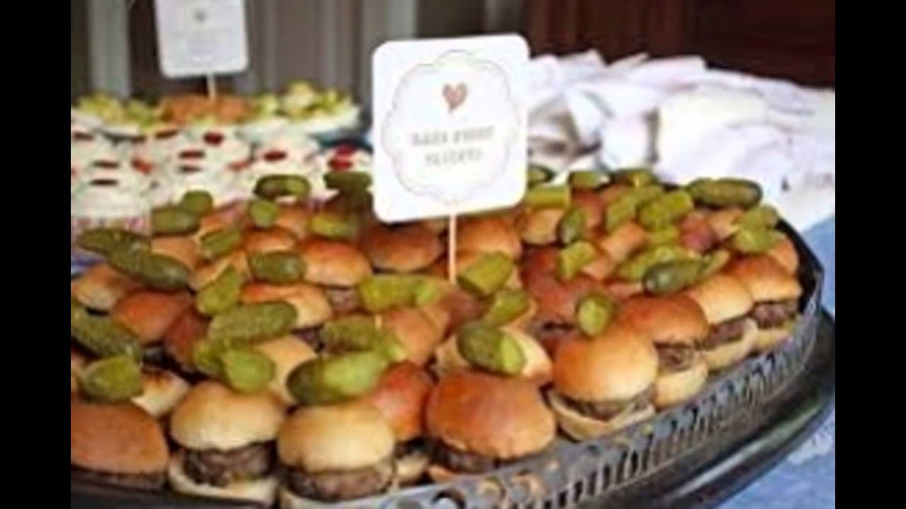 baby shower food ideas - YouTube