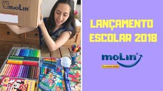 LANÇAMENTO ESCOLAR MOLIN 2018