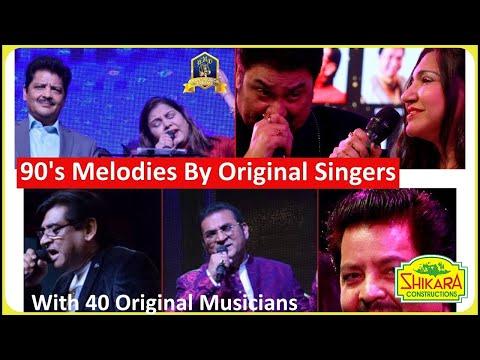 90's Songs Live By Kumar Sanu ,alka Yagnik, Abhijeet Da, Udit Narayan , Sadhna Sargam, Amit Kumar