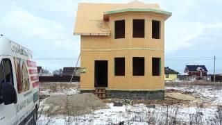 Проект Крым 103 м2. 2017г.  месяц монтажа на рублёвочке
