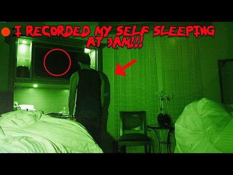 I RECORDED MY SELF SLEEPING IN THE HAUNTED BILTMORE HOTEL AND CAUGHT THIS ON CAMERA!!