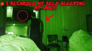 I RECORDED MY SELF SLEEPING IN THE HAUNTED BILTMORE HOTEL AND CAUGHT THIS ON CAMERA!! | MOE SARGI