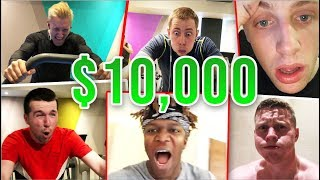 LAST YOUTUBER TO QUIT WINS $10,000 ft KSI, W2S, WillNE & MORE