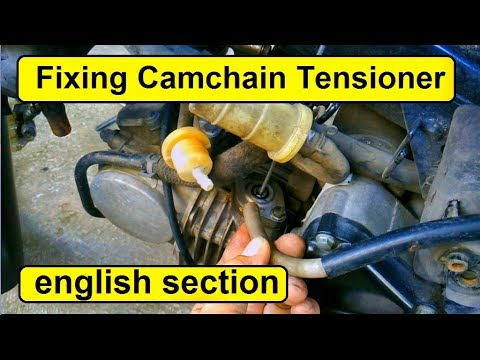 How To Fix Rattle Noise From Motorcycle Camchain