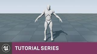 BP شخص 3 اللعبة: FBX استيراد واستخدام هياكل عظمية | 03 | v4.8 سلسلة دروس | محرك غير واقعي