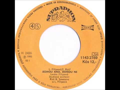 Lenka Filipová - Jednou ano, jednou ne [1983 Vinyl Records 45rpm]