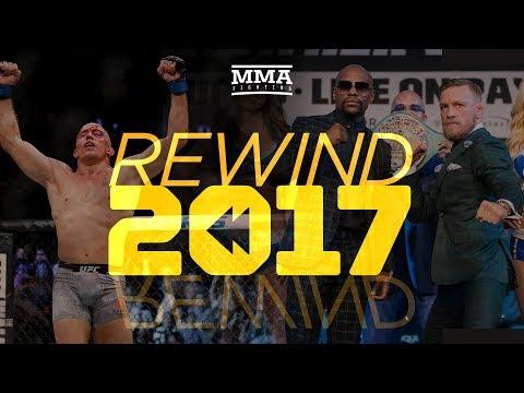 Rewind 2017 - MMA Fighting