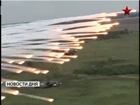 Kamov Ka-52 Helicopter in live fire action - Great footage