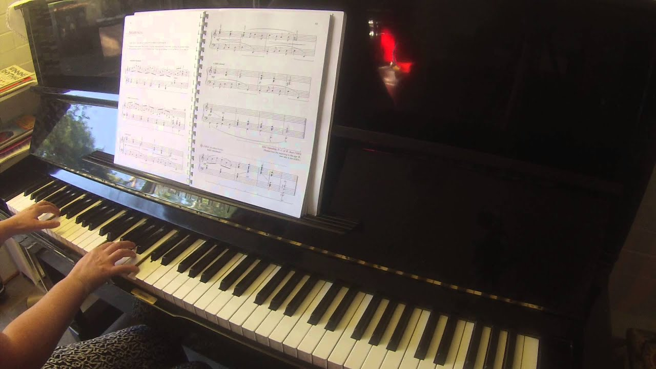 Night Song Alfred's basic adult piano course all-in-one ...