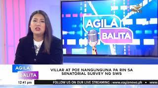 Villar at Poe nangunguna pa rin sa Senatorial Survey ng SWS