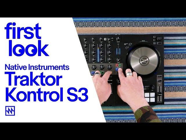 First Look: Native Instruments Traktor Kontrol S3 4 Channel DJ Controller