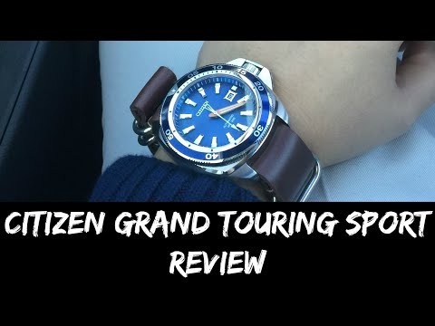 Citizen Grand Touring Sport Review, NB1031-53L
