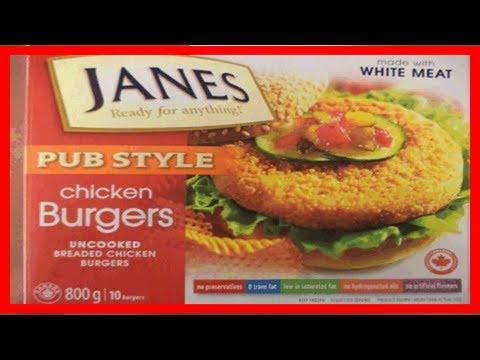 [Chanel News] Salmonella scare prompts nation-wide recall of janes chicken burgers