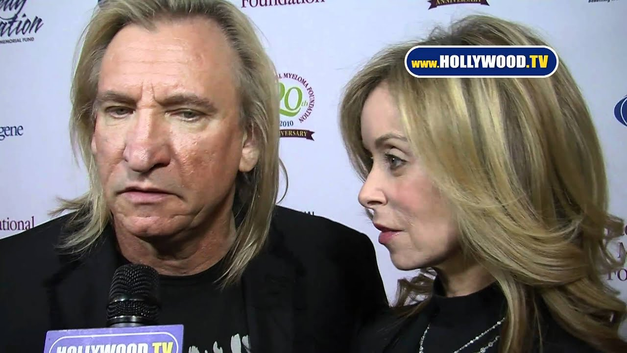 joe walsh and marjorie bach do the red carpet at the 4th