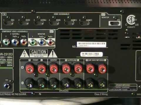 denon avr 2312 receiver sales demo info youtube rh youtube com denon avr-1712 manual pdf denon avr-1712 manual pdf