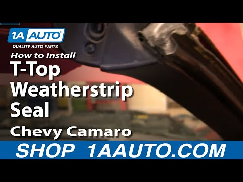 how-to-replace-t-top-roof-weatherstrip-seal-82-92-chevy-camaro