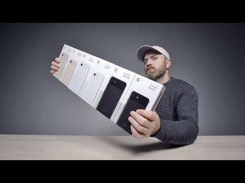 Unboxing Every Google Pixel 3 XL + Pixel 3