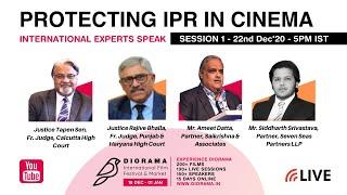 Protecting IPR in Cinema: Session 1 | Diorama International Film Festival & Market 2020