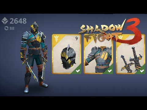 Shadow Fight 3 - LEGION Liquidator Set