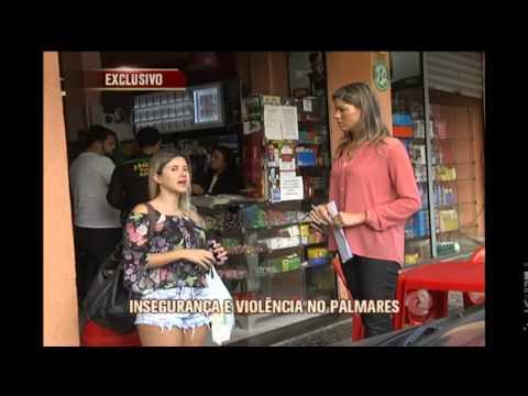 Durante reportagem, TV Alterosa flagra briga com pauladas no Bairro Palmares