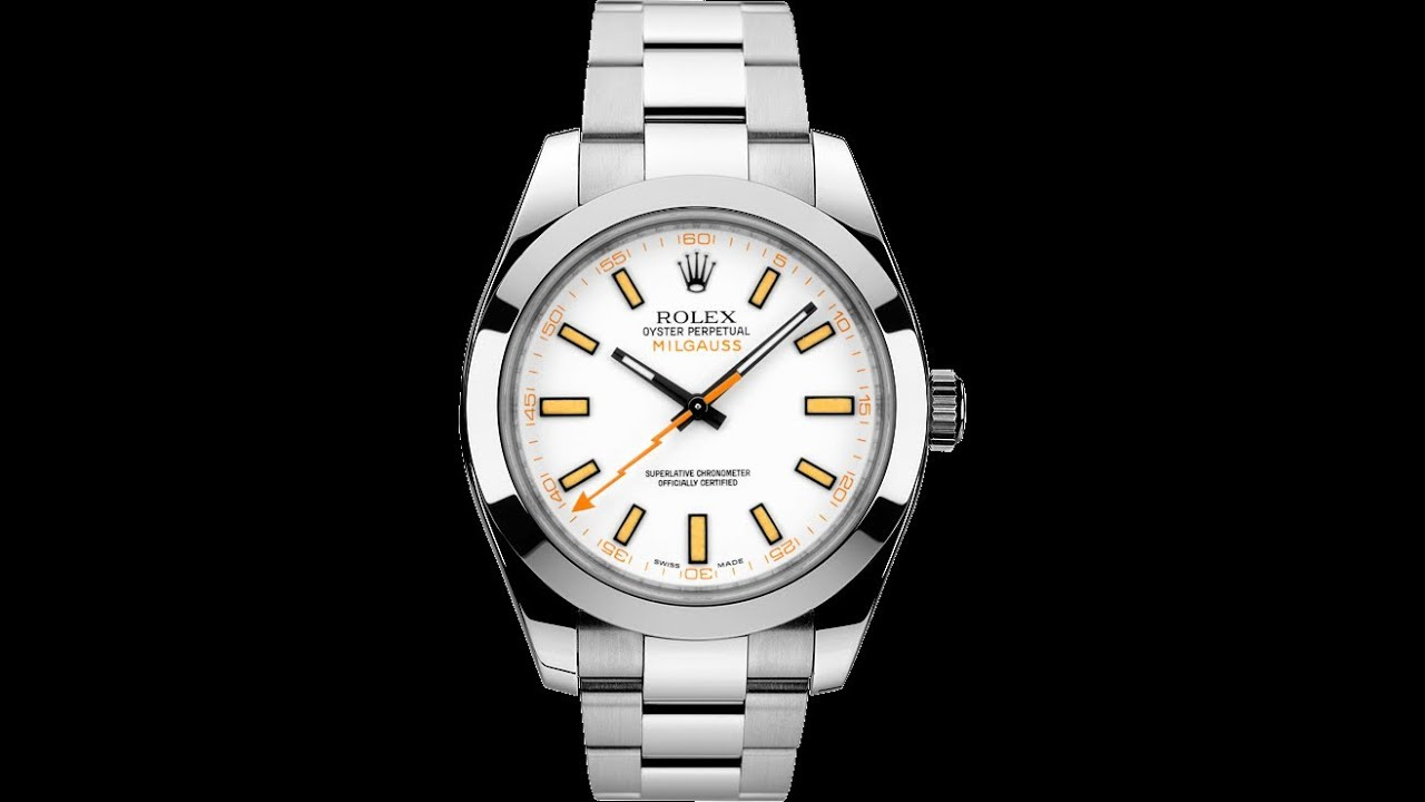 EWC review of the rare and discontinued Milgauss white dial