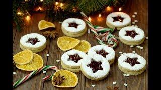 ЛИНЦЕРСКОЕ ПЕЧЕНЬЕ с Джемом ✧ Linzer Cookies Recipe