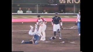 1989.8.16 元ボクサー、近鉄リベラがマウンドへ突進
