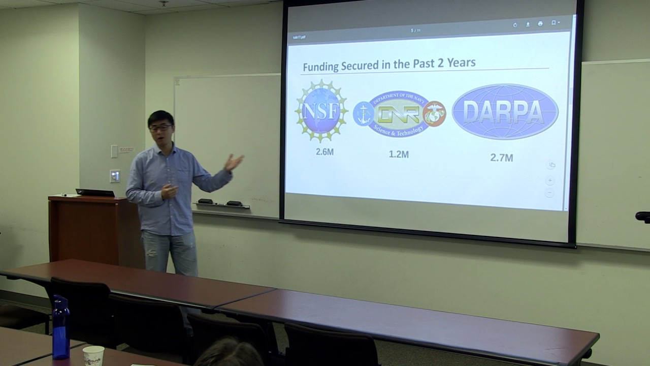 """Systems Research at UC Irvine"" - Harry Xu, Assistant Professor"