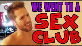 We Went to a SEX CLUB - (Day 37 of Fall-Log-Mas)