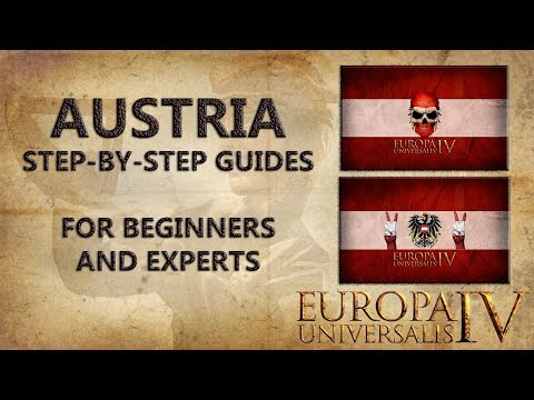 EU4 Austria Step-by-Step Guides [For Beginners & Experts] [Tutorial] | Shadow Kingdom