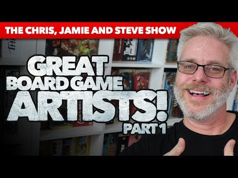 Great Board Game Artists - Part 1