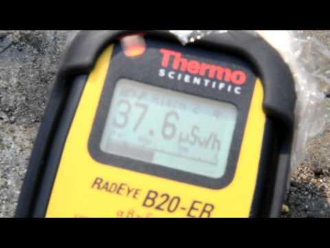 放射線量測定(郡山市)
