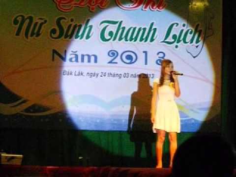 Trung cấp SPMN Dak Lak, Hội thi nữ sinh thanh lịch, Hứa Thị Thiệp, Năng khiếu