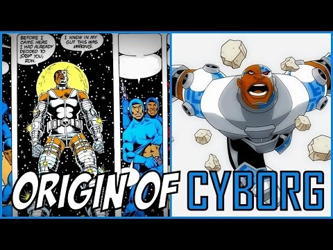ORIGIN OF CYBORG (TEEN TITANS) │ Comic History