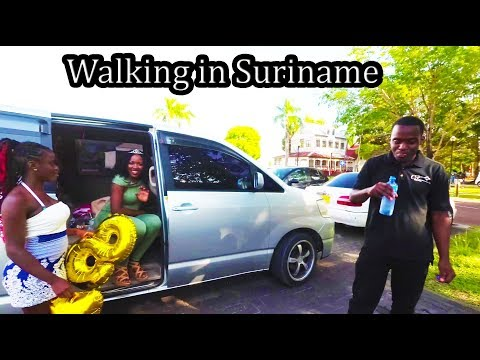 (2) Suriname 2017 -  Walking Around Paramaribo - Sept